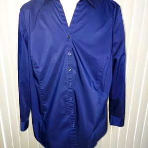 Like new long sleeve button down top